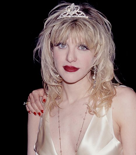 Courtney Love  There are many ways you can pay homage to the princess of grunge on All Hallow's Eve, but our favorite requires only three key pieces: a slip dress, tattered tights, and a...