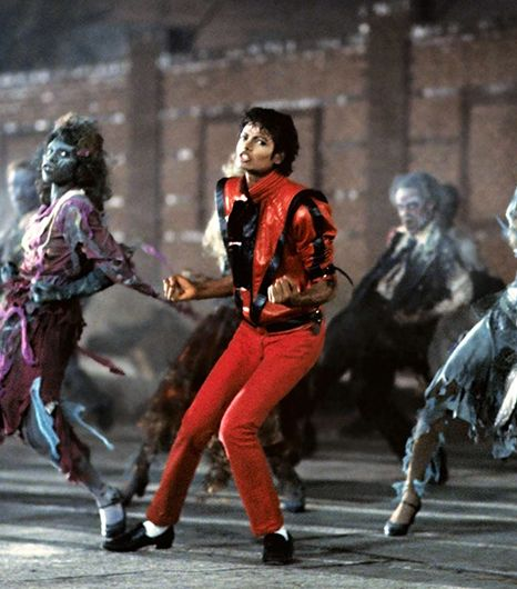 "Michael Jackson from ""Thriller""