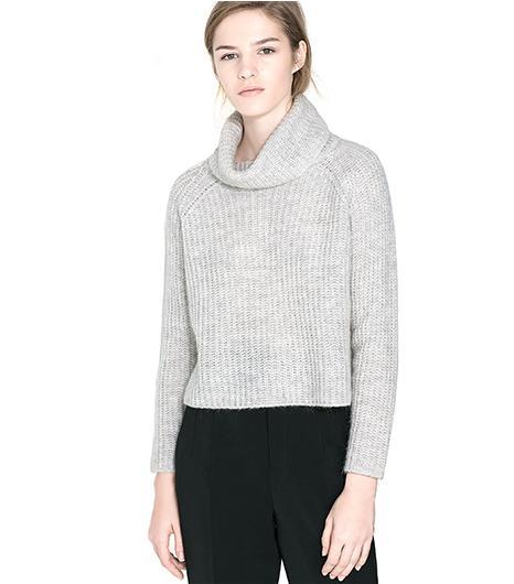 Zara Wide Turtle Neck Jersey