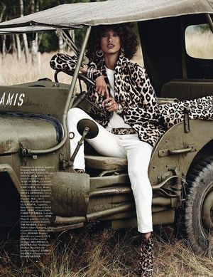 Leopard On Leopard Looks With A Safari-Inspired Twist From Vogue Paris