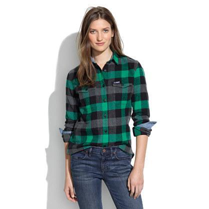 Check Shirts Womens - Green Check Shirt Womens - Shirts Rock