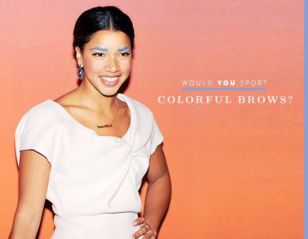 Would You Colour Your Brows?