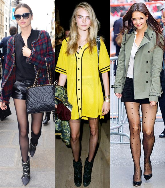 New Ways To Wear Your Tights Right Now