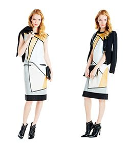 Block Party: The Day To Night Graphic Dress