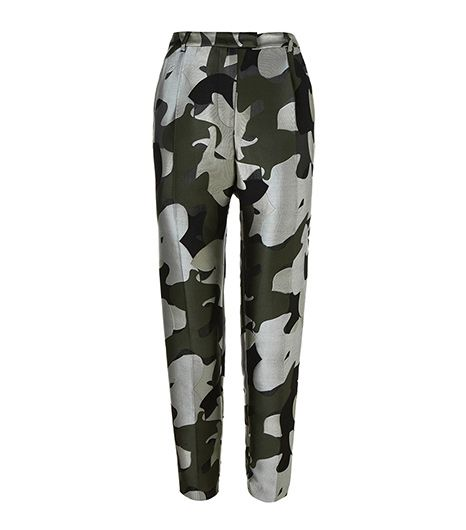 A chic alternative to the ubiquitous floral-print pants. 