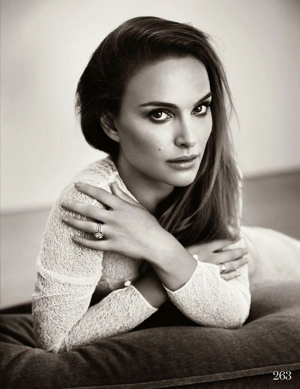 Natalie Portman's Stunning ELLE UK Cover Shoot