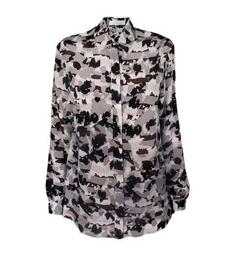 Pair with a leather pencil skirt or pinstriped pants. 