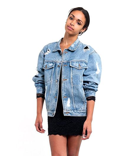 The Abrade Me Denim Jacket
