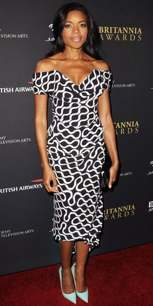 Naomie Harris Shines At The Britannia Awards.