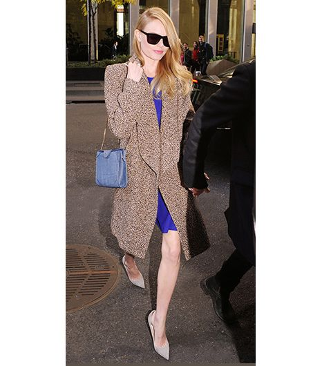 1. Pointed Pumps   Nothing lengthens the leg like a classic heel, especially when they are a similar shade to your skin. Kate Bosworth demonstrated this technique with a pair ofJimmy Choo Agnes...