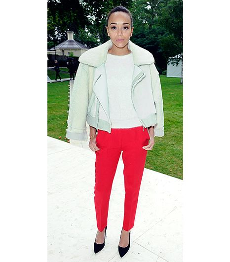 4. Slim-Cut Trouser   Mirror, mirror on the wall, which is the most flattering pant cut of all? The slim (not too tight, not too loose) trouser with a slightly cropped hem, of course. Take note...