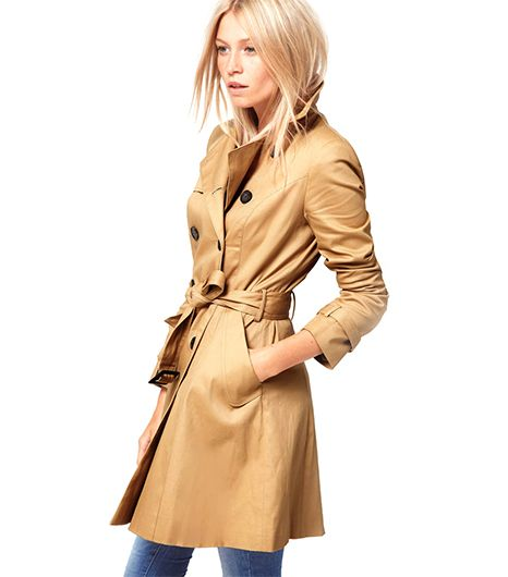 ASOS Classic Trench ($107) in Camel