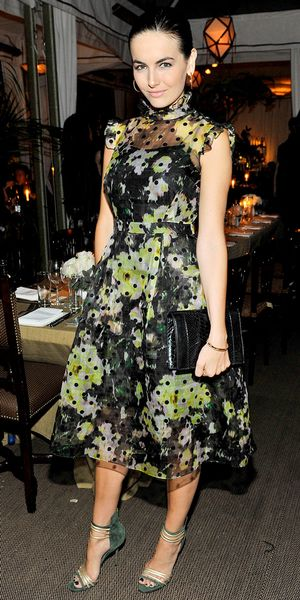 Camilla Belle Honors Erdem At A Los Angeles Dinner.