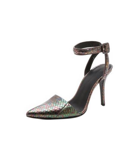 Alexander Wang Lovisa Ankle Strap Pumps ($645)