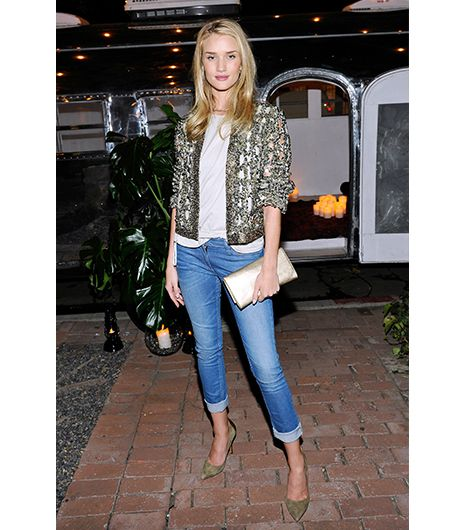 3. Dress Up Your Jeans