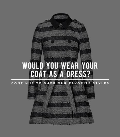 Coat As Dress
