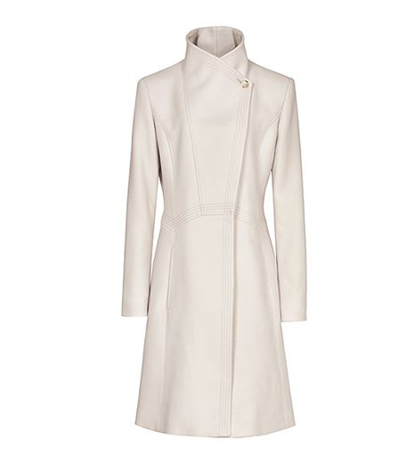 Reiss Virginia Fit and Flare Coat