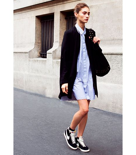7 Tricks To Wearing Your Sneakers Outside The Gym | WhoWhatWear
