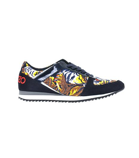 Kenzo Tiger-Print Trainers