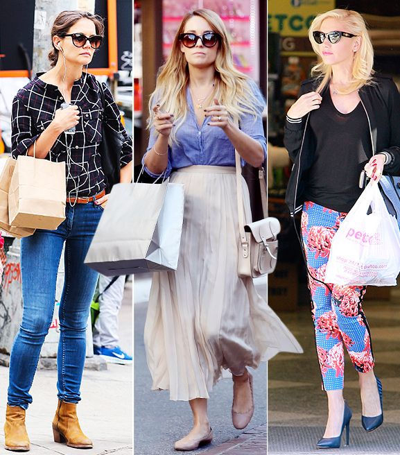 What They Wear: Shopping