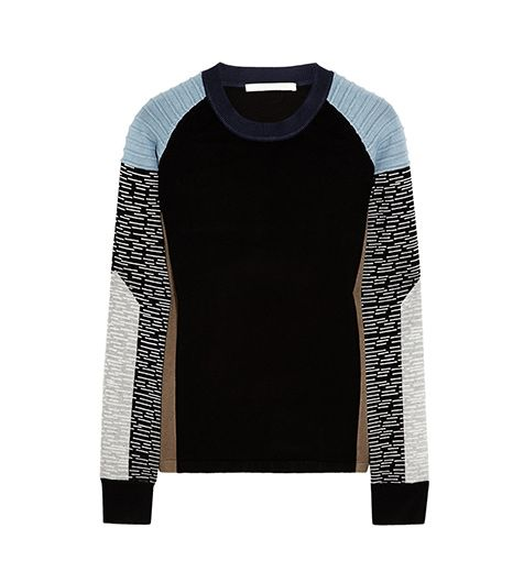 Jonathan Simkhai Color-Block Jersey Sweater ($315)