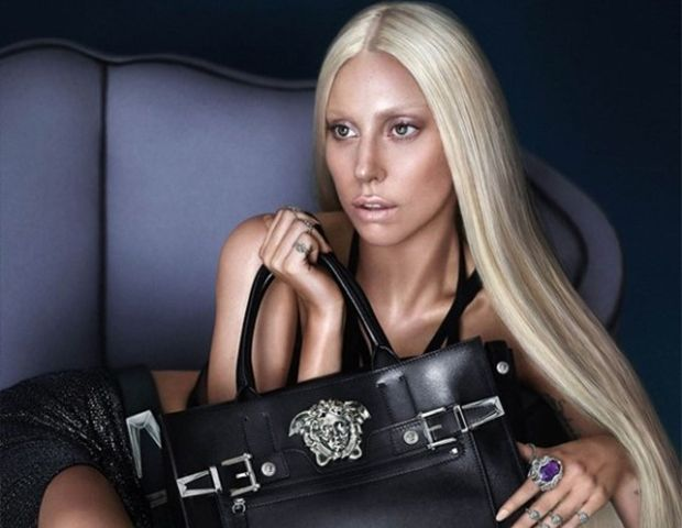 Lady Gaga's New Versace Ads and Vogue-Approved Braid Inspiration.