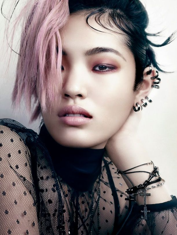 Punk-Inspired Beauty And Accessories From Vogue Japan
