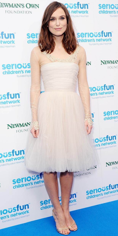 Keira Knightley Attends The SeriousFun London Gala.