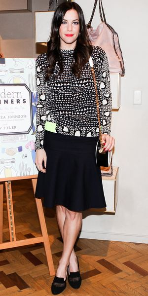 Liv Tyler Celebrates Her New Book In NYC.