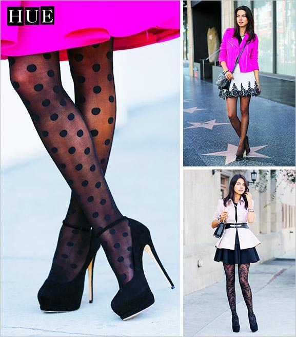 Viva Luxury Blogger Annabelle Fleur Models HUE's Red-Hot Winter Looks