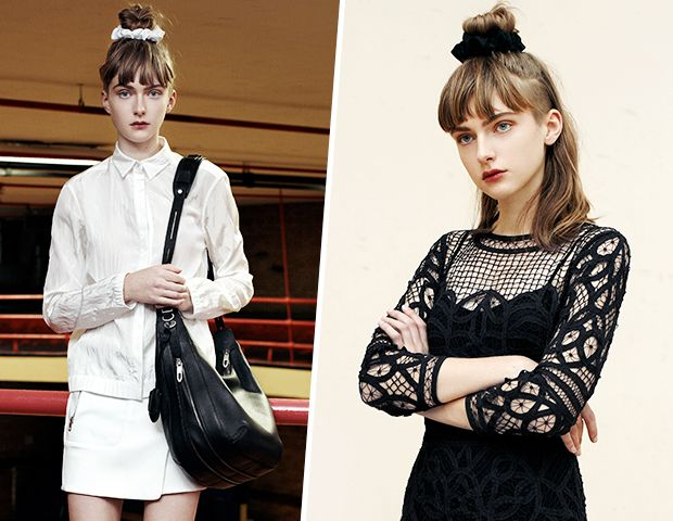 Rag & Bone's Bringing the Scrunchie Back. Would You Wear It?