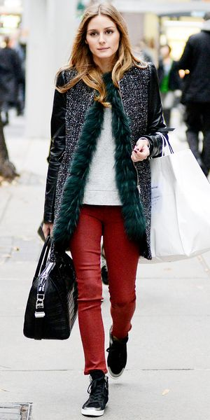 Olivia Palermo's Luxe Layering Trick