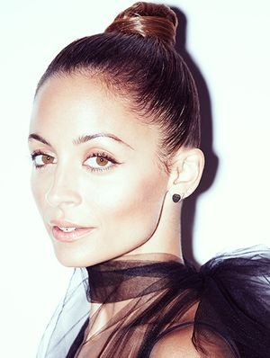 Nicole Richie Models Holiday Beauty Looks in Our Exclusive Editorial