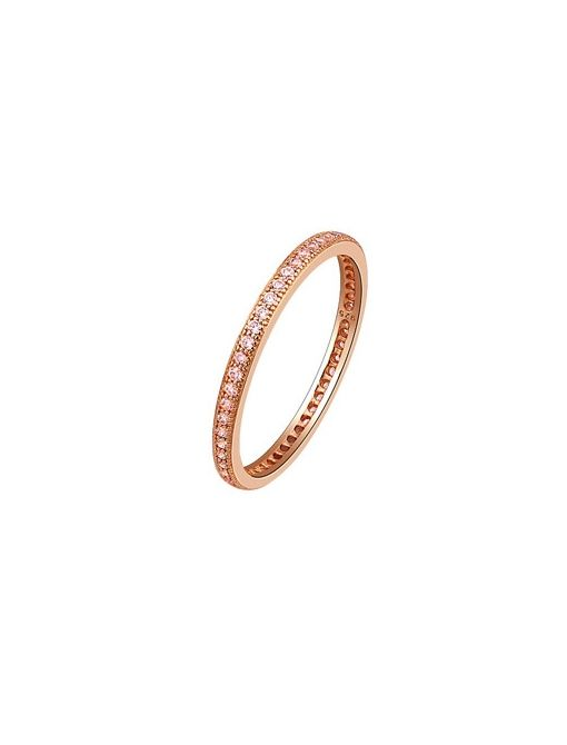 Narrow Micro-Pave Ring ($110) in Rose Gold Vermeil