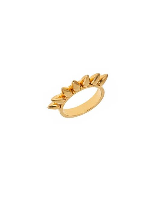 ?Spike Stella Ring ($95) 18K Gold Plated