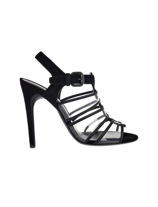 Spritza Suede and PVC Sandals ($680)