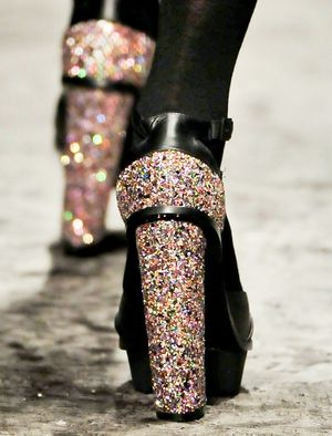 Disco-Dipped Heels
