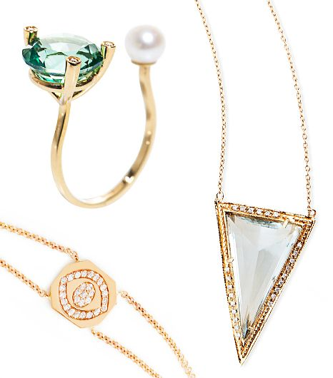 14 Dazzling Jewelry Pieces: Because You've Been a Very Good Girl This Year