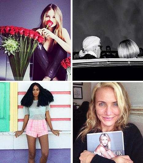 35 Must-See Instagrams: Cameron, Beyonce, and the Gisele Photo Everyone's Talking About