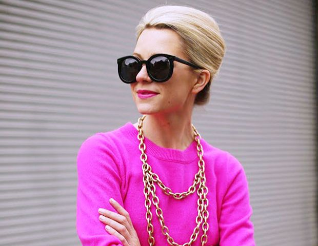 Why Blogger Blair Eadie Swears By Mousse and Matches Her Makeup to Her Clothes
