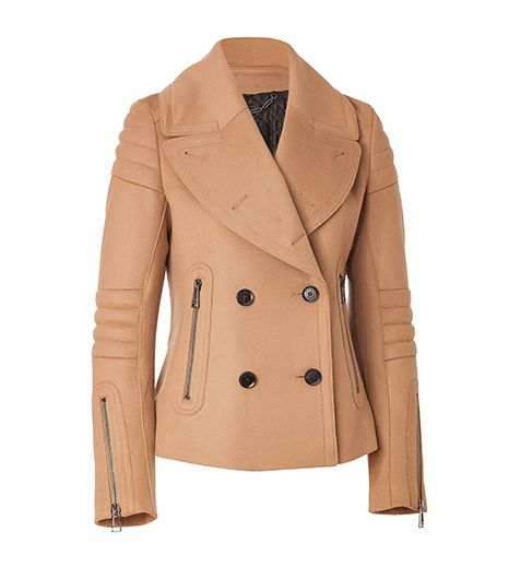 Wool-Cashmere Moto Dallington Jacket