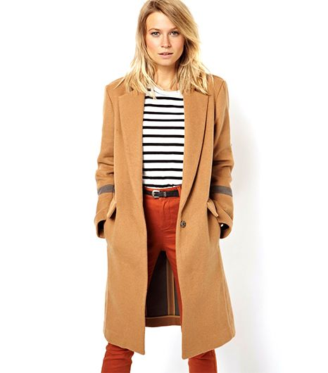 Knee-Length Overcoat