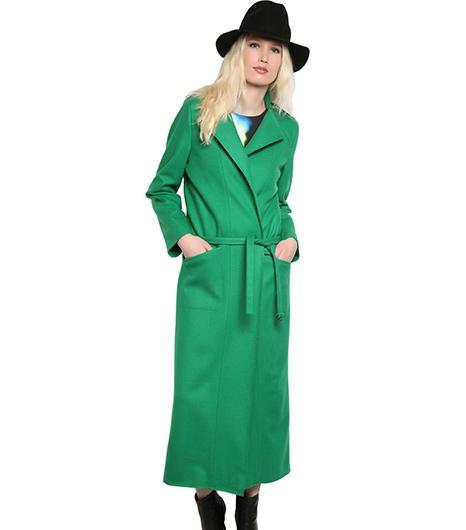 Minimarket Long Wool Coat ($306)