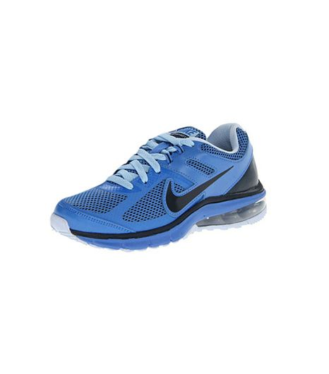 Nike Air Max Defy Run Sneakers ($95) in Distance Blue/Chambray Blue/Armory Navy