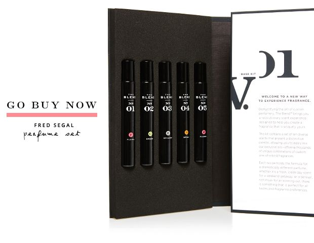 Become Your Own Perfumer With Fred Segal's New Kit