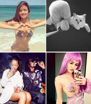 The Best Celebrity Instagram Photos of 2013