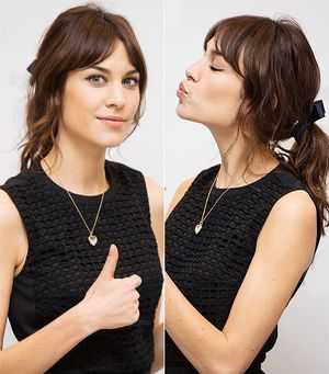 Alexa Chung's Party Look In 20 Seconds