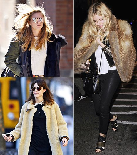 What They Wear: Cold Weather