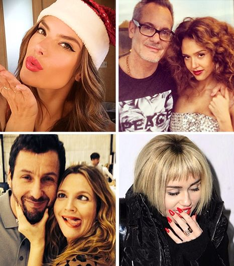 The Week's Best Instagrams (Plus: Did Kim K Wax Her Baby's Eyebrows? You Decide)
