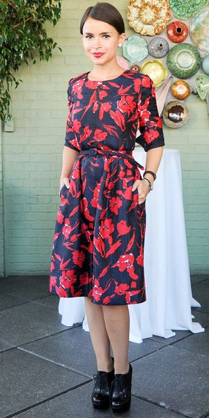 Miroslava Duma Wears Fashion's Chicest Collaboration